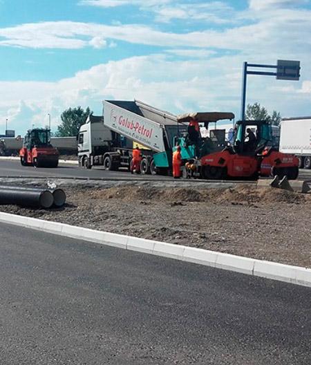Izvođenje radova na graničnom prelazu Batrovci na autoputu E-70