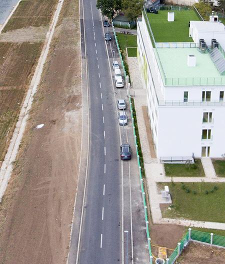 Izgradnja nove ulice Mirka Obradovića, Valjevo