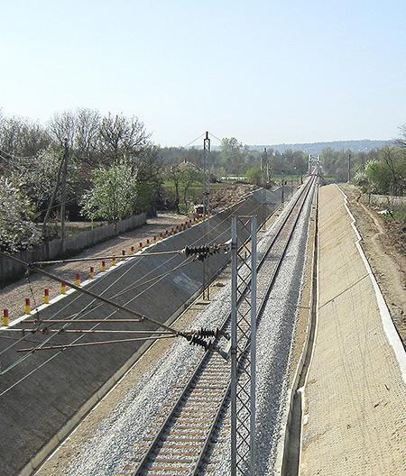 Rekonstrukcija pruge na Koridoru X za deonicu Mala Krsna – Velika plana