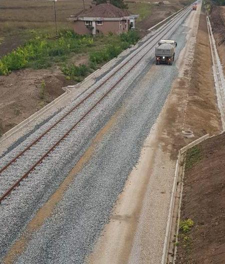 Izgradnja brze pruge Stara Pazova - Novi Sad